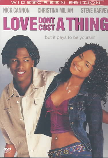 LOVE DON'T COST A THING BY CANNON,NICK (DVD)